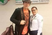 """Nicolas Cage llegó a Colombia para grabar """"Running with the devil"""""""