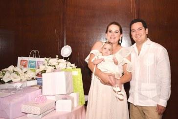 Detalles del bautizo de Sofía Guerrero Pineda