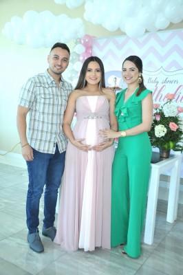 William Rodríguez, Leslie Anariba de Ortega y Cristina Medina
