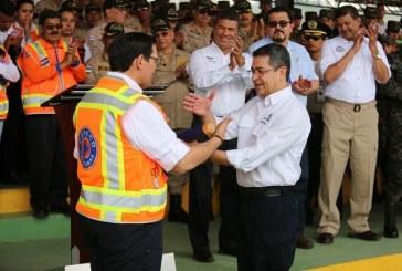 Presidente Hernández reconoce el trabajo arduo de Conapremm