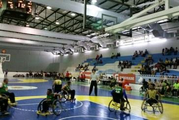 Basquetbolistas demostraron sus habilidades y destrezas en Torneo de baloncesto en silla de ruedas