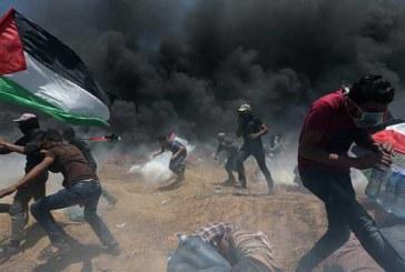 Arde Gaza por inauguración de embajada de EEUU en Jerusalén; al menos 52 palestinos han muerto