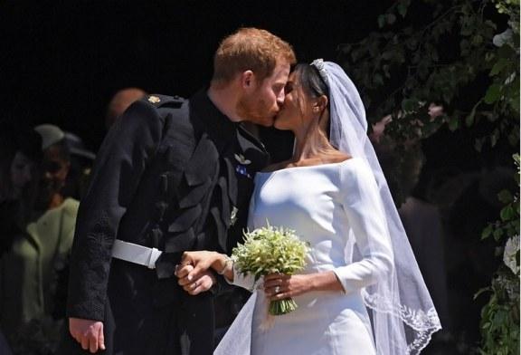El príncipe Harry y Meghan Markle ya son oficialmente marido y mujer
