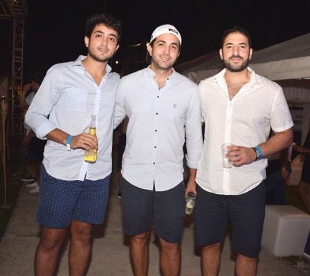 Carlos, Gabriel y Fernando Kattán