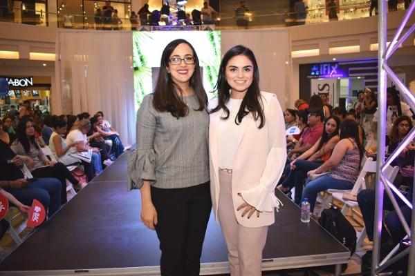 Claudette Kattán y Cecilia Castro