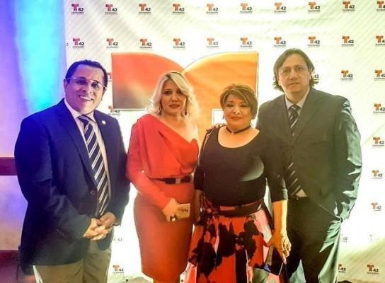 Dagoberto Rodríguez, Miriam Torres, Mayra Navarro y Aldo Romero.