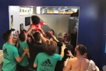 Increíble desafío del hijo del brasileño Marcelo con las estrellas del Real Madrid