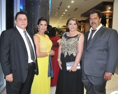 Gilberto Moreno, Ana de Moreno, Sara Dubón y German Lemus