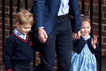Hijos de los Duques de Cambridge serán pajes en la boda real