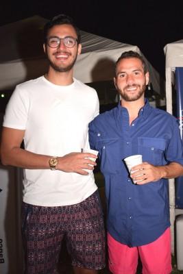 Jesús Icaza y Raúl Saborio
