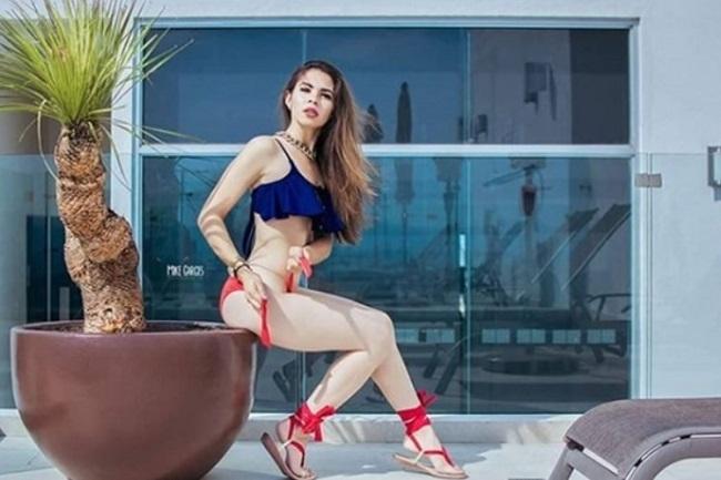 Así hace campaña esta sensual candidata a diputada de México
