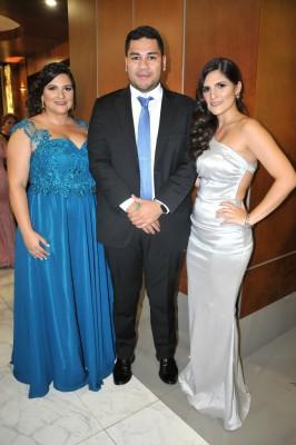 Victoria de Ortez, Francisco Ortez y María José Alemán