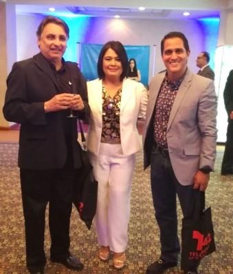 Yuyo Tróchez, Fabiola Chávez y Juan Fernando Lobo.