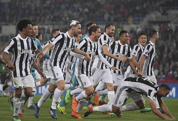 El Juventus conquista su cuarta Copa Italia consecutiva y hunde al Milan
