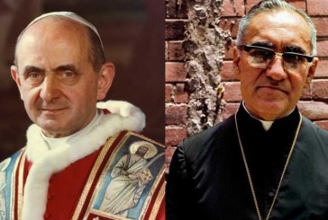 El Vaticano anuncia canonización de monseñor Romero y el papa Pablo VI para el 14 de octubre