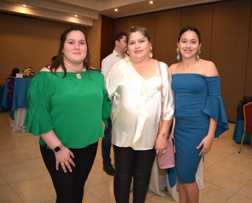 Ana Melissa Padilla, Sol Palacios y Julissa Zúñiga