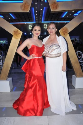 Ashley Cartagena y su madre, Karla Portillo