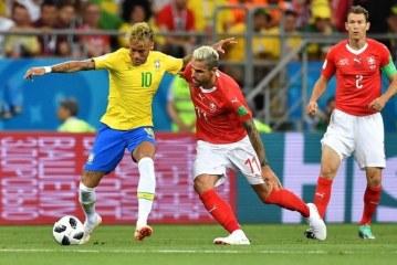Brasil se atascó y decepciona en su debut mundialista al empatar 1 a 1 con Suiza