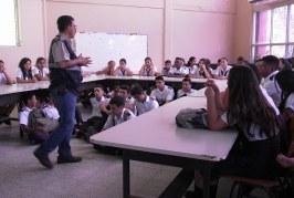 """Estudiantes del Centro Básico """"Presentación Centeno"""" aprenden a cuidar el medio ambiente"""