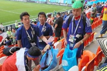 El video viral que muestra la lección de civismo y disciplina del público japonés tras el partido con Colombia