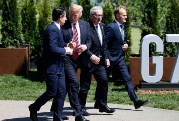 """En Cumbre del G7 Donald Trump espera resolver acuerdos comerciales """"injustos"""""""