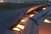 Avión que trasladaba la selección de Arabia Saudita se prendió fuego durante el aterrizaje en Rostov