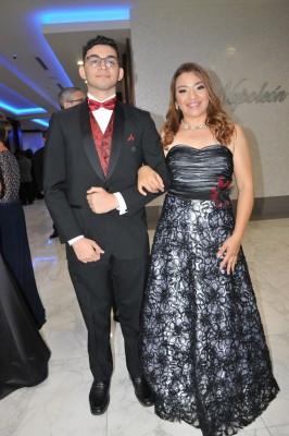 Kevin Leiva y su madre, Lisbeth de Leiva