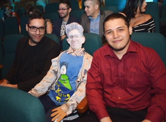 Mauricio Godoy, Eddie García y Ernesto Arguello