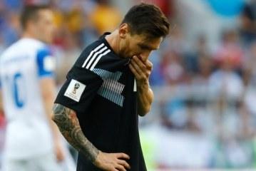 "Lionel Messi tras empate con Islandia: ""Me duele haber errado el penalti"""