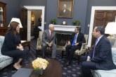 """Mike Pence: """"Reunión con mandatario Hernández fortalecerá nuestra lucha contra el narcotráfico y la corrupción"""""""