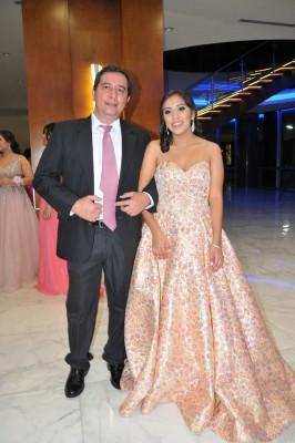 Natalia Bacilá y su padre, Hernan Bacilá