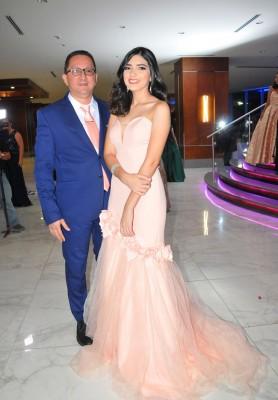 Omar Vásquez y su hija Josselyn Vásquez