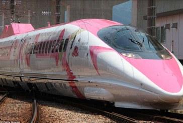 Tren bala de Hello Kitty es la nueva sensación en Japón (+fotos)