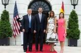 La sorpresa que se llevó Melania cuando recibió a la reina Letizia en la Casa Blanca