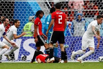 Rusia 2018: Uruguay gana en su debut ante Egipto con marcador 0 – 1