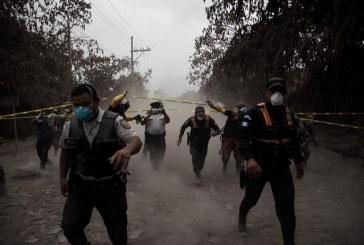 Suben a 62 los muertos por la erupción del volcán de Fuego en Guatemala
