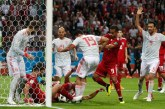 España vence a Irán 0-1 con un extraordinario esfuerzo