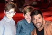 Emocionado, Ricky Martin confesó su deseo de que su dos hijos de nueve años sean gay