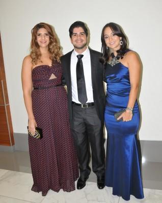 ALilibeth Kattán, Guillermo Castillo y Daniela Saybe