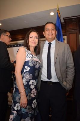 Carolina López y Roberto Martinez
