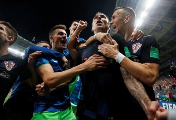 Croacia jugará ante Francia su primera final mundialista, tras derrotar a Inglaterra