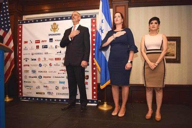 Embajada de Estados Unidos celebra 242 años de independencia