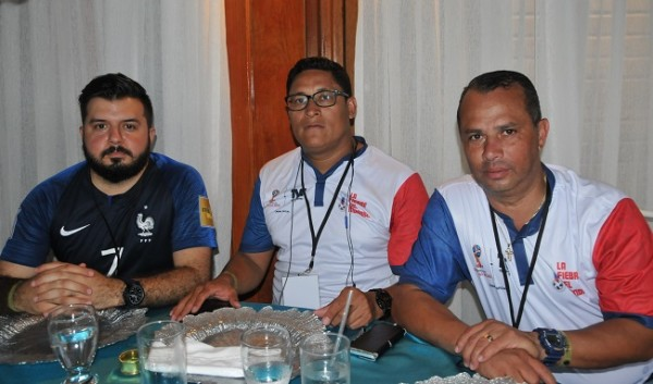 Salvador Aguilar, César Lagos y Francisco Zúniga, de Hoy Mismo.