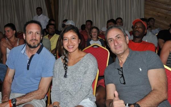 Paul Genuario, Nicoli Barahona y Rick K.