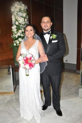 Rigoberto Díaz Lara y Denia María Barón Rajo brillaron con luz propia en su gran noche