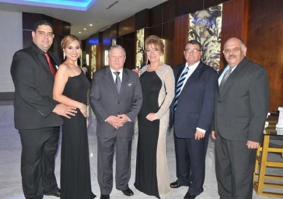 Fernando Naranjo, Gabriela Zacapa, Oscar Galeano, Mary de Naranjo, Fernando Naranjo y Jorge Grande