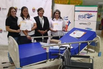 Grupo Jaremar y CEPUDO entregan donativo por más de 2 millones de lempiras al Hospital Escuela