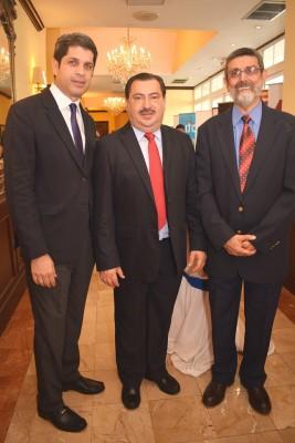 José Martin Chicas, Allan Ramos y German Perez