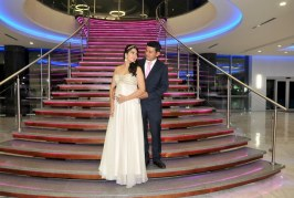 La boda de Julio y Damaris: un amor que siempre estuvo cerca