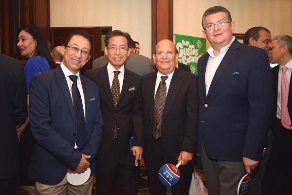 Julio Gom, Benito Liao, Mario Duarte y Ricardo Mejia